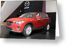 New Mazda Model Greeting Card