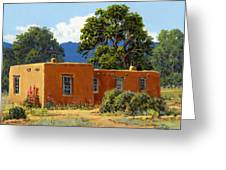 New Mexico Adobe Greeting Card