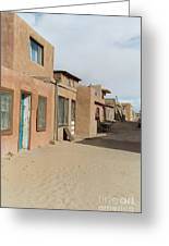 New Mexico Buildings Greeting Card