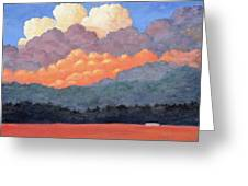 New Mexico Cloudscape  Greeting Card