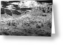 New Mexico Mountains Greeting Card