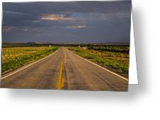 New Mexico Road 10 Greeting Card