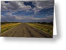 New Mexico Road 7 Greeting Card