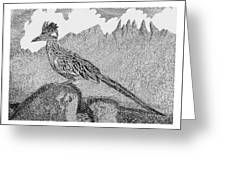 New Mexico Roadrunner Greeting Card