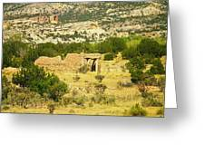 New Mexico Ruins Greeting Card