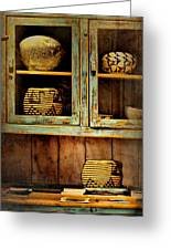 New Mexico Sideboard Greeting Card