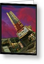 New Mission Theater San Francisco Greeting Card