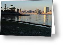 New Moon- Low Tide Greeting Card