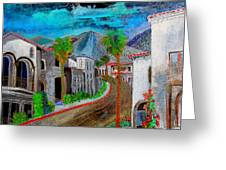 New Old Town La Quinta Greeting Card
