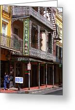New Orleans - Bourbon Street 10 Greeting Card