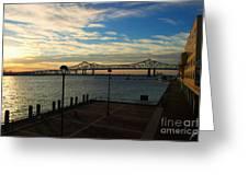 New Orleans Bridge Greeting Card