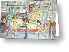 New Orleans Carousel Greeting Card