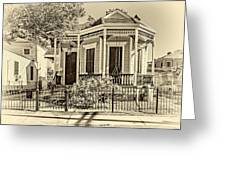 New Orleans Charm 2 Greeting Card