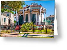 New Orleans Charm Greeting Card