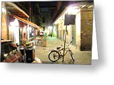 New Orleans - City At Night - 121216 Greeting Card