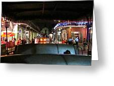 New Orleans - City At Night - 121217 Greeting Card