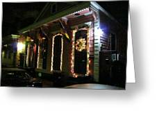 New Orleans - City At Night - 121219 Greeting Card
