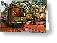 New Orleans Classique Line Art Greeting Card