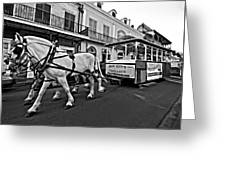 New Orleans Cortege  Greeting Card