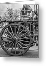 New Orleans Fire Department 1896 Bw Greeting Card