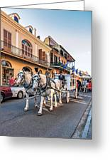New Orleans Funeral Greeting Card