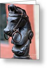 New Orleans Horse Tether Greeting Card
