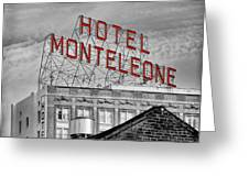 New Orleans - Hotel Monteleone Greeting Card