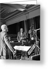 New Orleans Jazz Orchestra Greeting Card