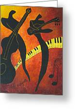 New Orleans Jazz Greeting Card