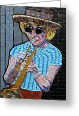 New Orleans Lady Greeting Card
