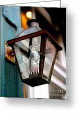 New Orleans Lamp Greeting Card