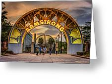 New Orleans Louis Armstrong Park  2 Greeting Card