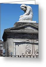 New Orleans Louis Stone Freeze Greeting Card