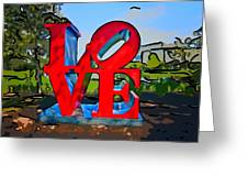 New Orleans Love 3 Greeting Card