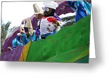 New Orleans - Mardi Gras Parades - 121210 Greeting Card