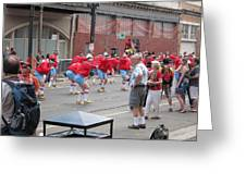New Orleans - Mardi Gras Parades - 1212105 Greeting Card