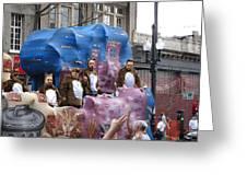 New Orleans - Mardi Gras Parades - 1212118 Greeting Card