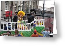 New Orleans - Mardi Gras Parades - 1212120 Greeting Card