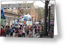 New Orleans - Mardi Gras Parades - 1212127 Greeting Card
