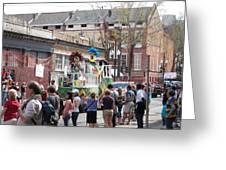 New Orleans - Mardi Gras Parades - 1212142 Greeting Card
