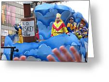New Orleans - Mardi Gras Parades - 121221 Greeting Card