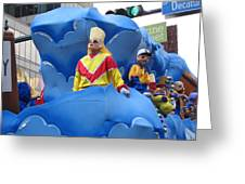 New Orleans - Mardi Gras Parades - 121222 Greeting Card