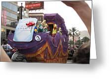 New Orleans - Mardi Gras Parades - 121228 Greeting Card