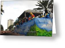 New Orleans - Mardi Gras Parades - 121238 Greeting Card