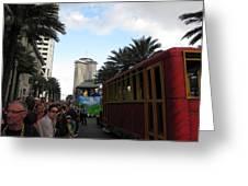 New Orleans - Mardi Gras Parades - 121239 Greeting Card