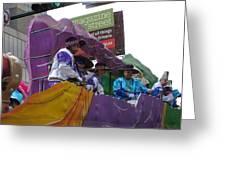 New Orleans - Mardi Gras Parades - 12124 Greeting Card