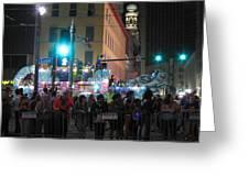 New Orleans - Mardi Gras Parades - 121241 Greeting Card