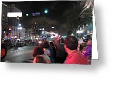 New Orleans - Mardi Gras Parades - 121243 Greeting Card