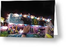 New Orleans - Mardi Gras Parades - 121245 Greeting Card