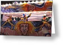 New Orleans - Mardi Gras Parades - 121251 Greeting Card